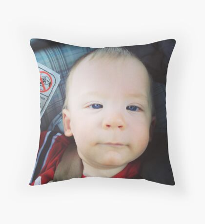 My Son Throw Pillow