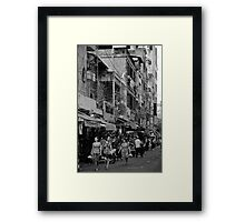 Saigon Shopping - Ho Chi Minh City, Vietnam Framed Print