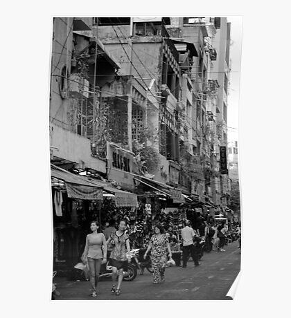 Saigon Shopping - Ho Chi Minh City, Vietnam Poster