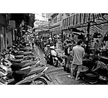 Hanoi wet market - Vietnam Photographic Print