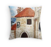 Eze Village Provence France Throw Pillow