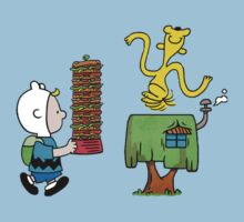 Adventure Time - The Charlie Brown and Snoopy Show by saboe