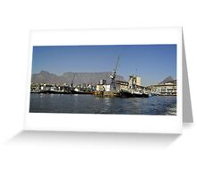 Cape Town Harbour Greeting Card