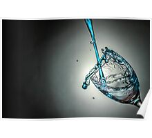 Water Splash Poster