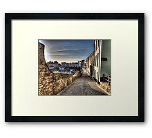 January - Crackwell Street Framed Print