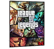 League of Legends GTA Poster Photographic Print