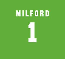 Anthony Milford iPhone Cover by nweekly
