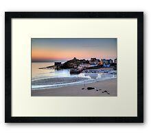 July - Tenby Harbour Framed Print