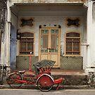 Red Rickshaw 2 by Ross Jardine