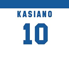 Sam Kasiano iPhone Cover by nweekly