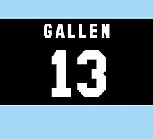 Paul Gallen iPhone Cover by nweekly