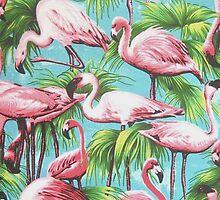 Flamingos by melaniewoon
