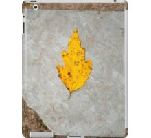 slate leaf iPad Case/Skin