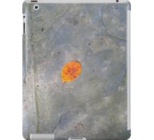 leaf on slate iPad Case/Skin