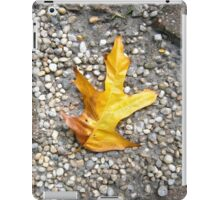 gold oak leaf iPad Case/Skin