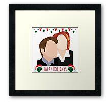A Very X Files Christmas Framed Print