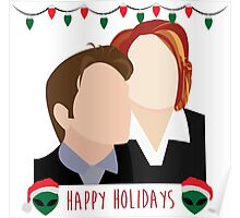 A Very X Files Christmas Poster