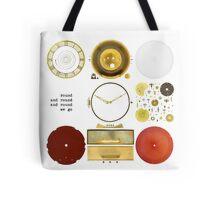 Metawa Holland Clock Tote Bag