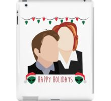 A Very X Files Christmas iPad Case/Skin