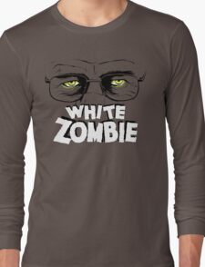 Walter White Zombie Long Sleeve T-Shirt