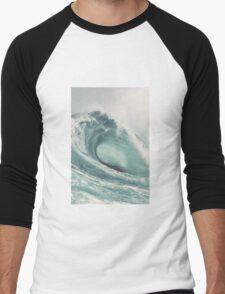 Wave Men's Baseball ¾ T-Shirt
