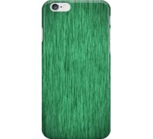 Fabulous Green Wood Grain iPhone Case/Skin
