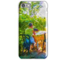 Waiting for breakfast iPhone Case/Skin