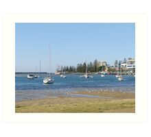 Safe Harbour! Port Macquarie, New South Wales. Art Print