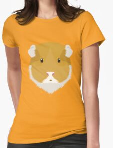 Brown Guinea Pigs Womens Fitted T-Shirt