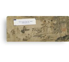 Best Fortune Ever — Chinese River Canvas Print