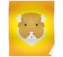 Brown Guinea Pigs Poster