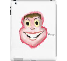 face, blood, art, LOL, crazy iPad Case/Skin