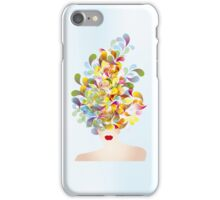 Colorful thoughts iPhone Case/Skin