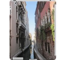 Narrow canal iPad Case/Skin