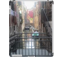 Canal boats iPad Case/Skin