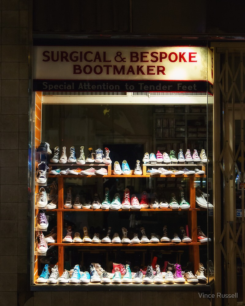The Boot-Maker's Window by Vince Russell