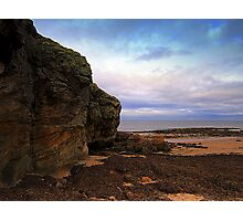 scottish sea scene Photographic Print