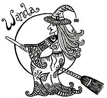 Wanda the Witch by Wealie
