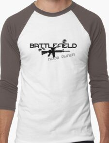 Battlefield Noob PWNer Men's Baseball ¾ T-Shirt