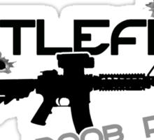 Battlefield Noob PWNer Sticker