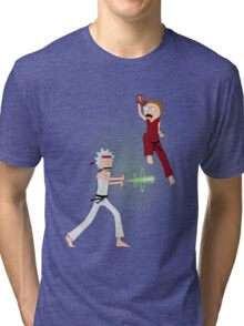 Rick Fighter 2 Tri-blend T-Shirt