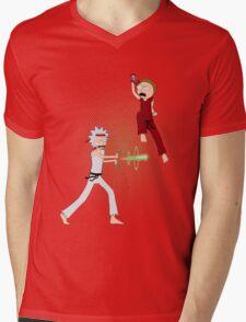 Rick Fighter 2 Mens V-Neck T-Shirt