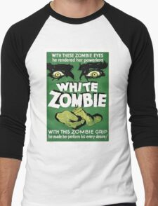 white zombie Men's Baseball ¾ T-Shirt