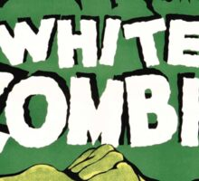 white zombie Sticker