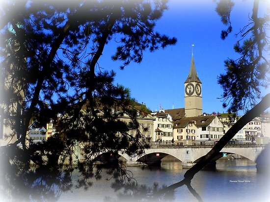 Reflections of Limmat by Charmiene Maxwell-Batten
