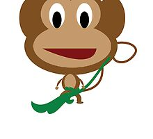 Cartoon Monkey by kwg2200