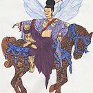 Chinese Fairy by redqueenself