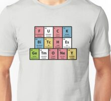 Table Of Elements Offensive Humor Unisex T-Shirt