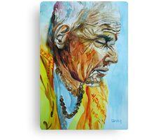 State of Meditation Canvas Print