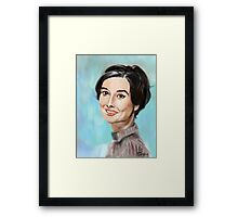 A face from past Framed Print